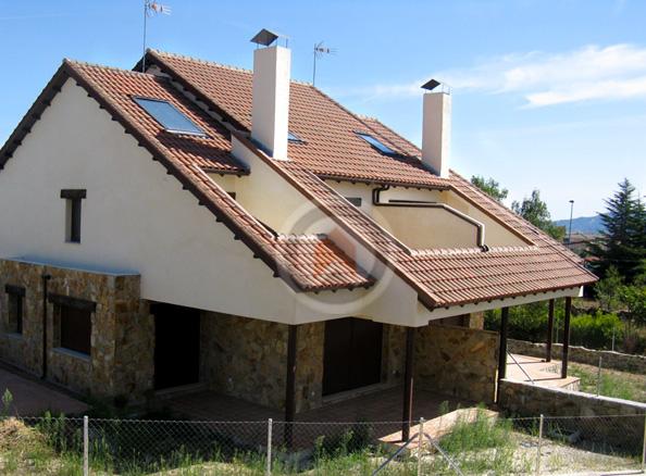 Fachadas de chalet fachadas de casas pequeas un chalet - Fachadas de chalets ...